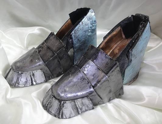 ザザミ装備女剣士靴防具の作り方