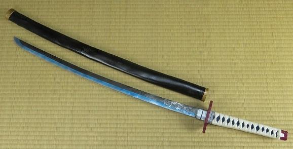 冨岡義勇の日輪刀の作り方(型紙付き) ,コスプレ造形の作り方と