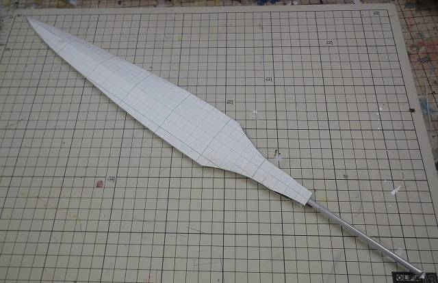 How to make Spear (with templates) - GYAKUYOGA [Tutorial of Cosplay